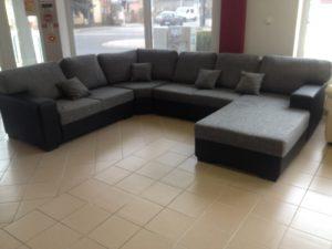 ülőgarnitúra u formájú kanapé