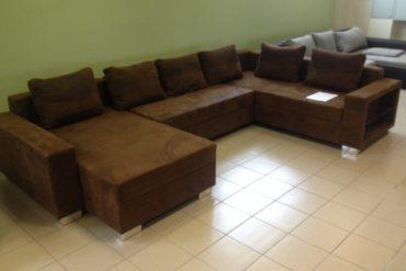 U forma kanapé