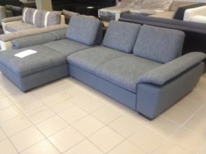 állítható háttámla L formájú kanapé