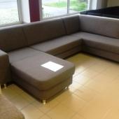 U forma u formájú kanapé