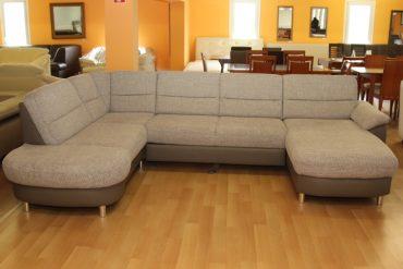 u alakú kanapé