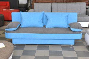 kék -szürke kanapé