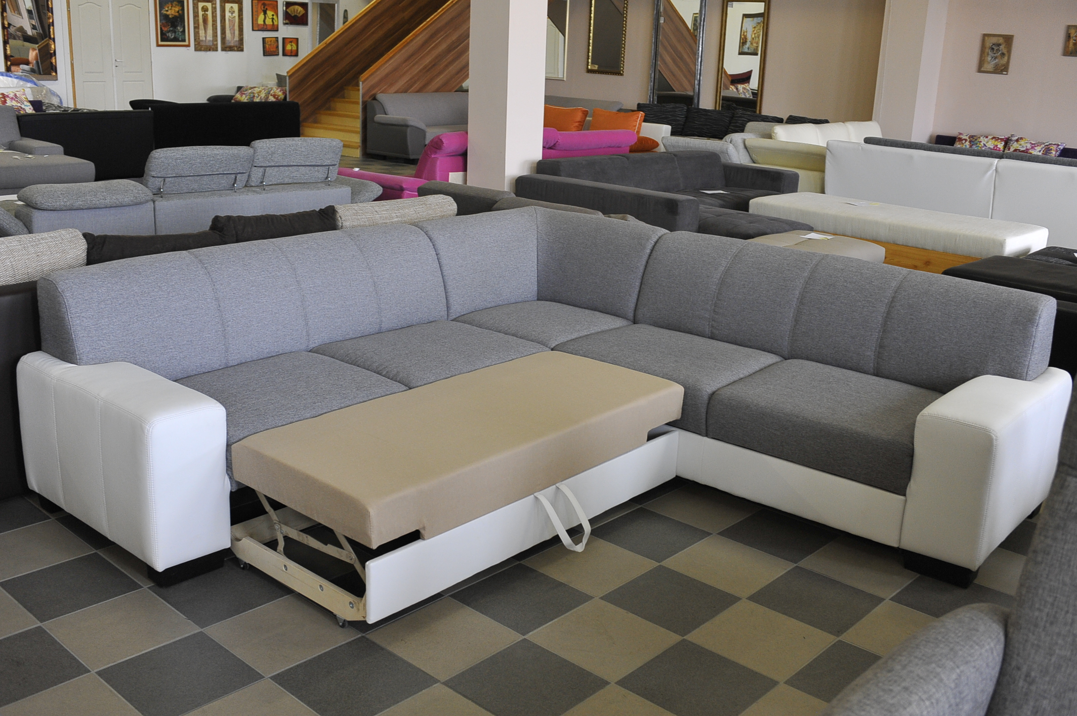 Lucz sarok kanapé - Akciós kanapé