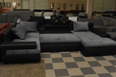 U-alakú kanapé ágyazható