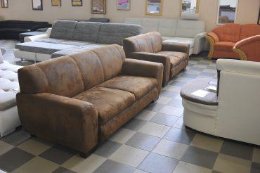 Barna kanapé 3+2