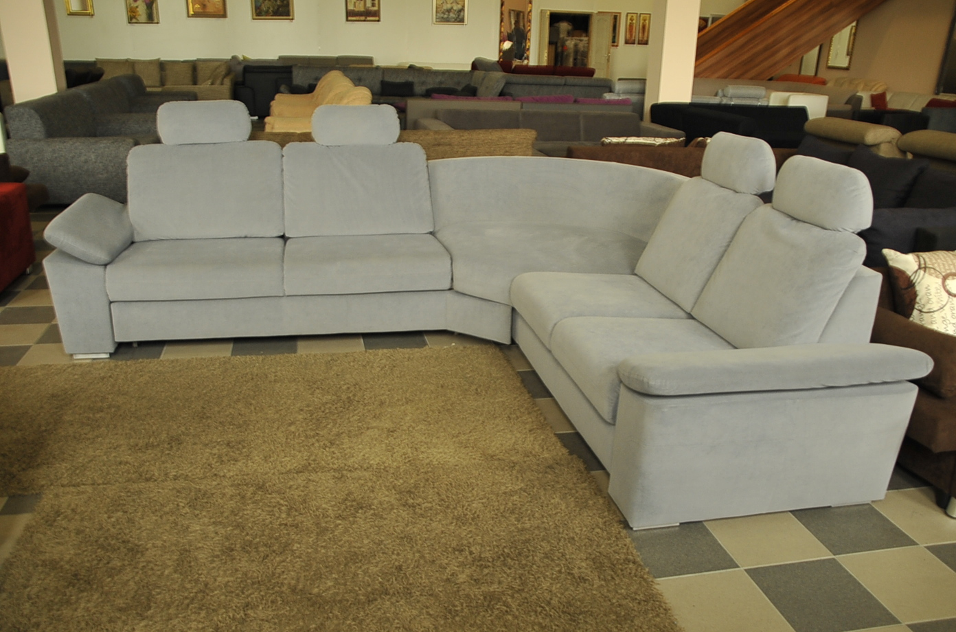 Monza sarok-kanapé - Akciós kanapé