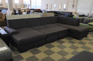 U-fU-form kanapé