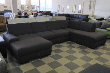 U-form kanapé