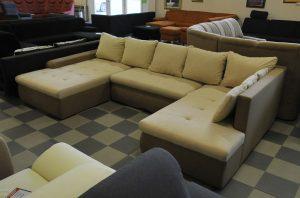 Bastia u-formájú kanapé