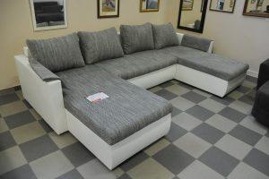U-formájú kanapé