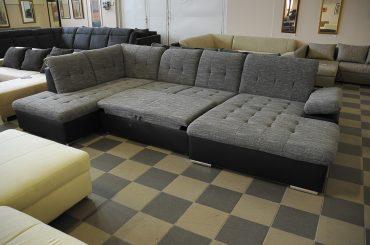U-alakú kanapé