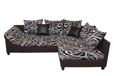 Zebra sarokkanapé